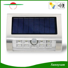 2016 Newest 9 Big SMD LED Solar Light Solar Powered LED Outdoor Light Wireless Waterproof with PIR Motion Sensor Light