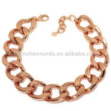 Jóias de aço inoxidável jóias de ouro rosa jóias vners