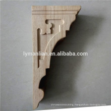 Decorative Rubber Wood Carving Bracket