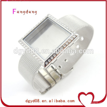high quality silver locket bracelets