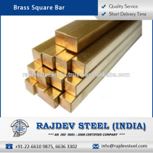 High Quality, Various Size Brass Square Bar at Low Market Price