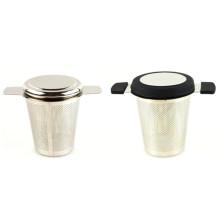 Presente de Natal relativo à promoção de Aço Inoxidável Folha Solta Infusor De Chá Coador Coador Para Copo Caneca Pote