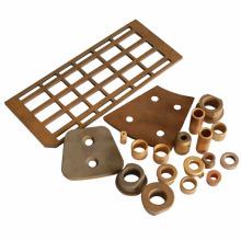 Pièces frittées de métallurgie des poudres à base de cuivre