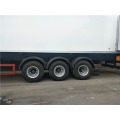 Large size semi trailer 3 axles refrigerated trailer