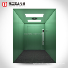 China Supplier Machineroom Industrial Outdoor 1 ton freight elevator for loading