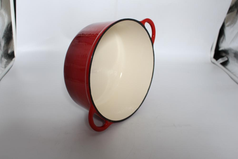 Round Enamel Cooking Pot
