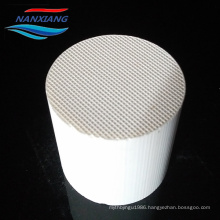 Honeycomb ceramic substrate for car exhaust gas purifier