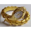 Reloj promocional del brazalete de la pulsera del cuarzo para las señoras