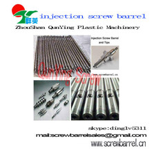 High Speed Pe Pvc Abs Pp Screw Barrel For Injection Molding Machine
