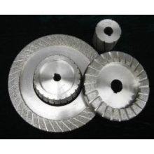 diamond electroplated abrasive grinding wheel