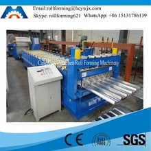 Constructin Machine Cold Forming Roofing Profile Trapezoid Sheet Making Machine Line