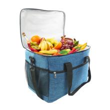 New Design big capacity Lunch Box Bag 35L Oxford Insulated Cooler Bag Shoulder waterproof Leakproof Cooler Lunch Bag