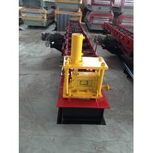 Roll forming rolling steel c channel making machine