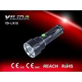 2014 Newest Aluminium Alloy Rechargeable CREE 3W LED Torch