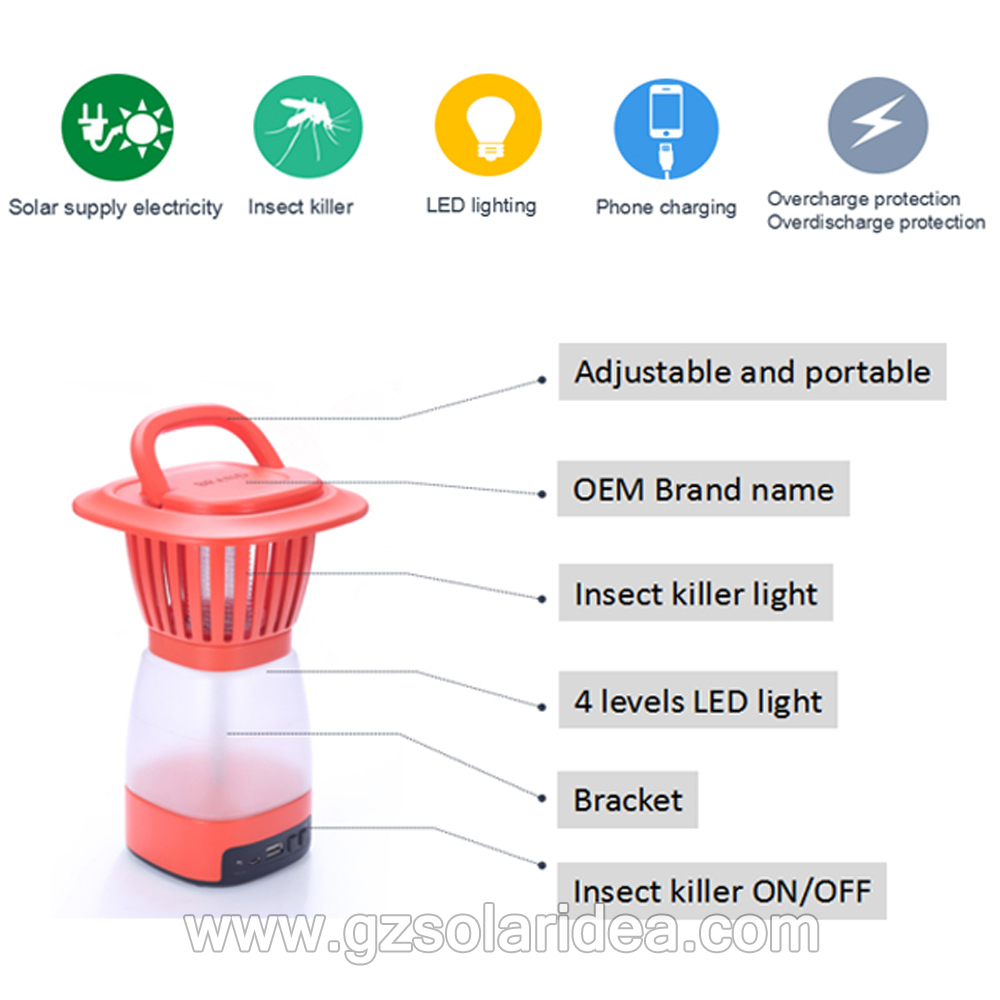 Special funtion insect killer lantern