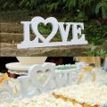 Décoration de lettre d'amour pour mariage