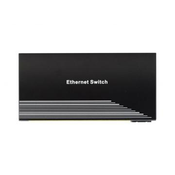 Switch POE di rete a 9 porte Fast Ethernet