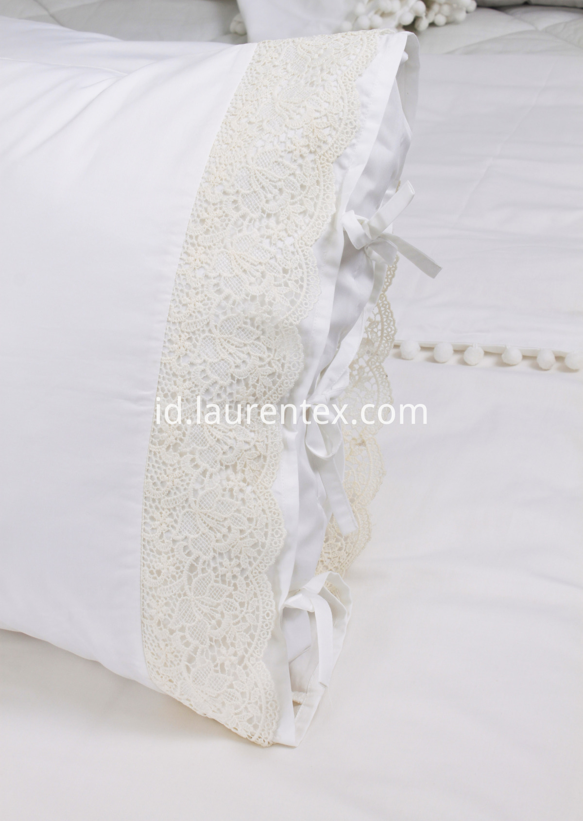 lace pillow case