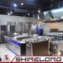 Todos os tipos de equipamentos de cozinha de aço inoxidável para restaurante ou hotel para venda