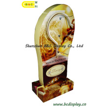 Special Shoe Shape Cardboard Stand with Metal Hooks for Exhibition Show with SGS (B&C-B053)