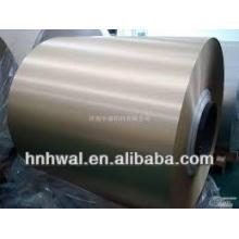 Roller Coating Aluminio Coil para decoración