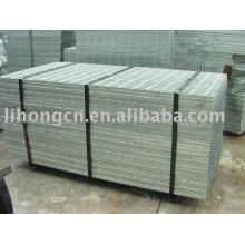 steel grating flooring, Serrated type grating flooring, I bar type steel grating flooring