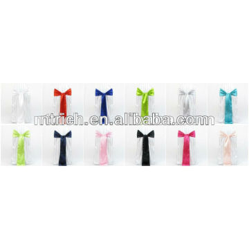 Wholesale cheap satin sash for chair cover