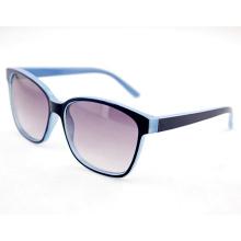 Simple moda personalizado polarized diseñador gafas de sol para las mujeres (14209)