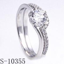Mais novo design simples jóias de casamento (s-10355)