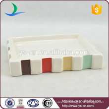 YSb40073-01-sd New product custom bathroom wares,wholesale ceramic soap dish
