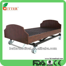 LUXURIOUS CE AND FDA APPROVED SOLID WOODEN HOME CARE BED WITH 3 FUNCTIONS