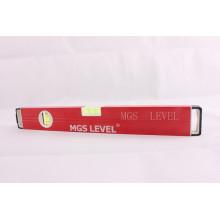Niveau de boîte en aluminium -700812b (400 mm de rouge)
