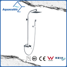 Contemporary High-Quality Brass Wall Mount Bathroom Shower Mixer/Faucet (AF6015-7B)