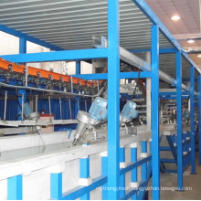 Sunlight Spraying Machine Line with Sand Blasting Equipment
