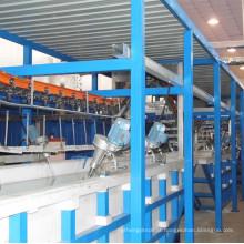 Linha de Máquinas de Pulverização de Luz Solar com Equipamento de Jateamento de Areia