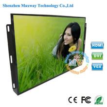Alto brilho TFT cor Monitor LCD de 19 polegadas de quadro aberto com botões de menu