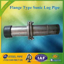 Tipo de Flange de alta qualidade Tubo de registro Sonic / Tubo de Sonda (Preço competitivo)