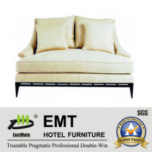 Nice Design Hot Selling Double Sofa Set for Hotel Living Room Bedroom (EMT-SF26)