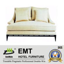 Nice Design Sofá de cama duplo para o quarto do quarto do hotel (EMT-SF26)