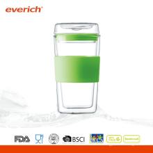 Рекламные 300 мл стеклянные чашки для воды на продажу