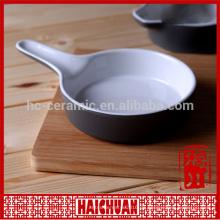 Farbige Keramik Backware Rechteck Schüssel Kuchen backen