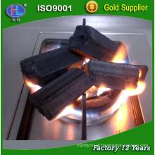 Carvão para briquetes de madeira para churrasco