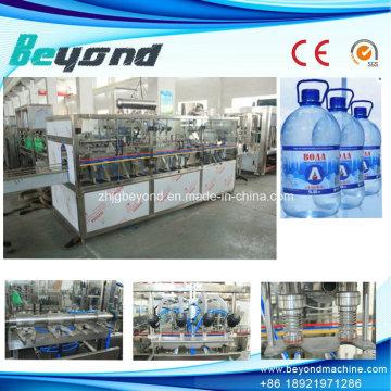 Máquina de rellenar del agua de la alta calidad 5L con CE