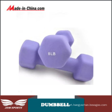 Fashion Colorful Fitness Dumbbell Color Vinyl Coated Dumbbell