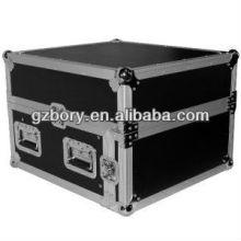 ATA 4 Espace AMP 10 Incliné Haut 4u 10u Mixer DJ Combiné Rack Flight Case