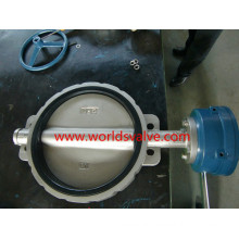Ss316L CF3m SUS316 SUS304 Wafer Butterfly Valve (D71X-10/16)