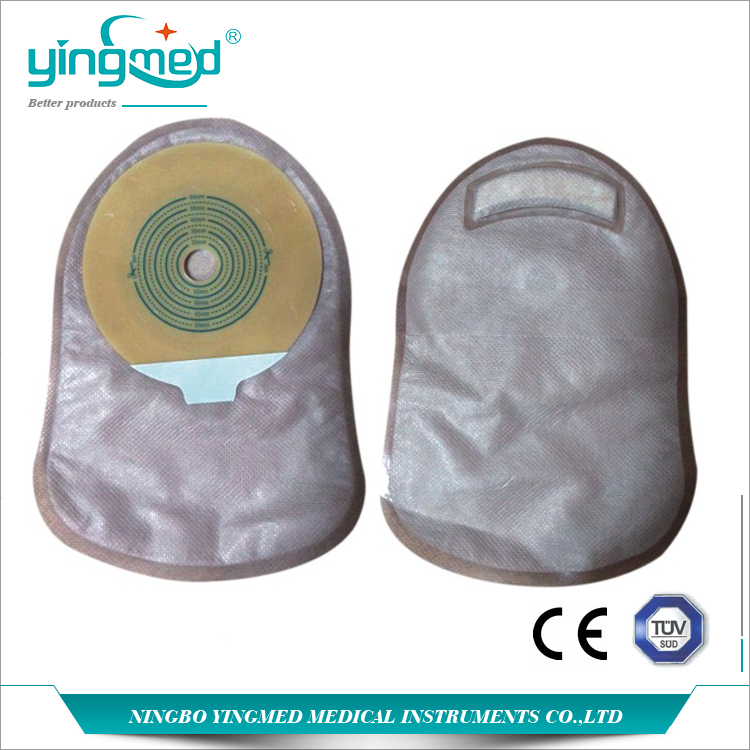 Hydrocolloid Adhesive One Piece Ostomy Pouch
