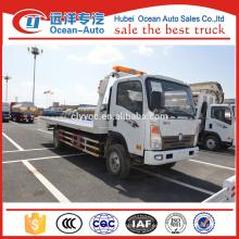 Sinotruk Heavy Duty Camión de rescate de camiones de remolque de 4 toneladas