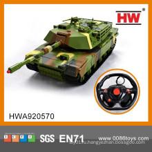 Новый популярный 4-канальный радиоуправляемый танк с зарядным устройством