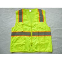 High-Visibility Safety Vest Reflective Vest